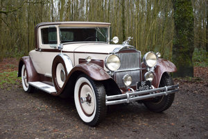 1930 Packard Model 733 Rumble Seat Coupe For Sale by Auction