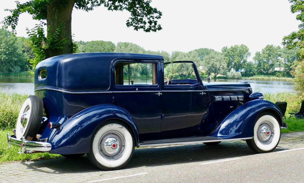 Packard Model 120-C Towncar by Rollston 1937 For Sale (picture 5 of 6)