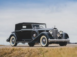 1934 Packard Twelve Convertible Victoria  For Sale by Auction