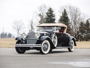 1930 Packard 740 Roadster  For Sale by Auction
