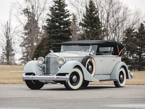 1934 Packard Eight Dual-Cowl Phaeton  For Sale by Auction