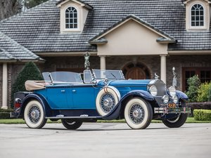 1929 Packard Deluxe Eight Sport Phaeton by Dietrich For Sale by Auction