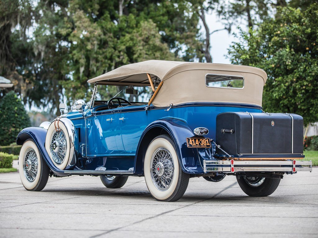 1929 Packard Deluxe Eight Sport Phaeton by Dietrich For Sale by Auction (picture 2 of 6)