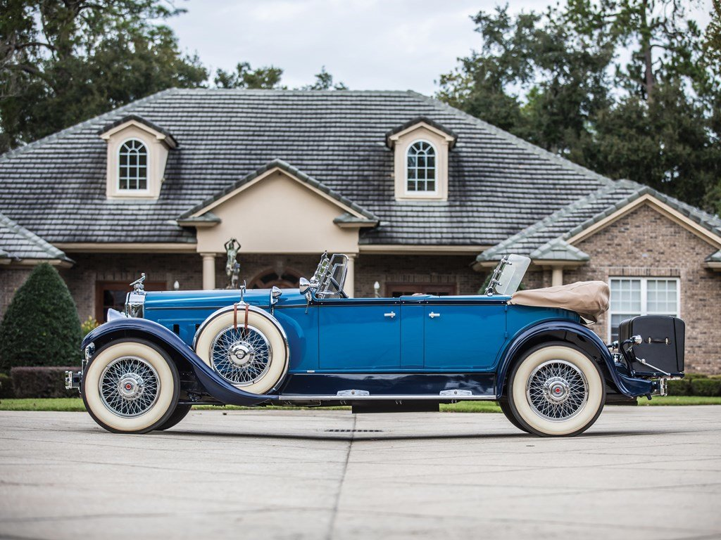 1929 Packard Deluxe Eight Sport Phaeton by Dietrich For Sale by Auction (picture 5 of 6)