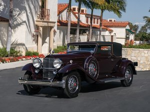 1931 Packard Deluxe Eight Convertible Victoria by Waterhouse