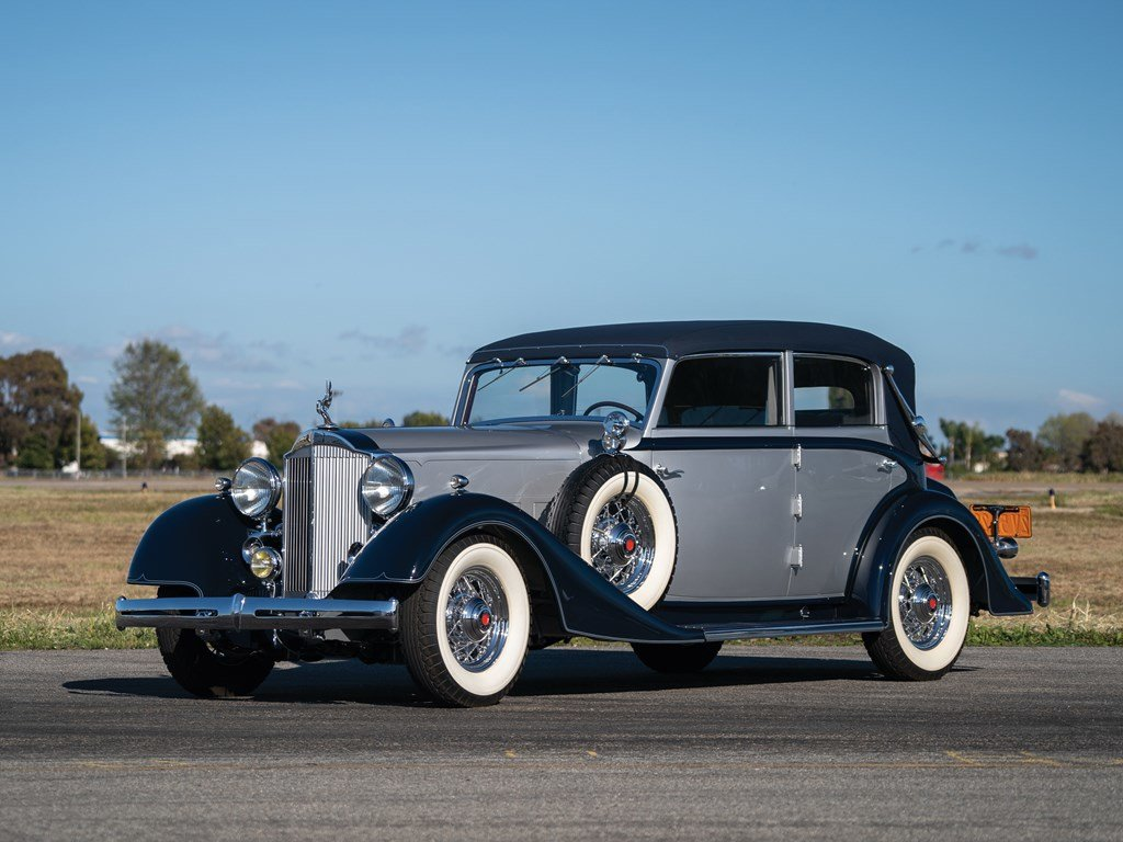 1934 Packard Eight All-Weather Cabriolet by Glser For Sale by Auction (picture 1 of 6)
