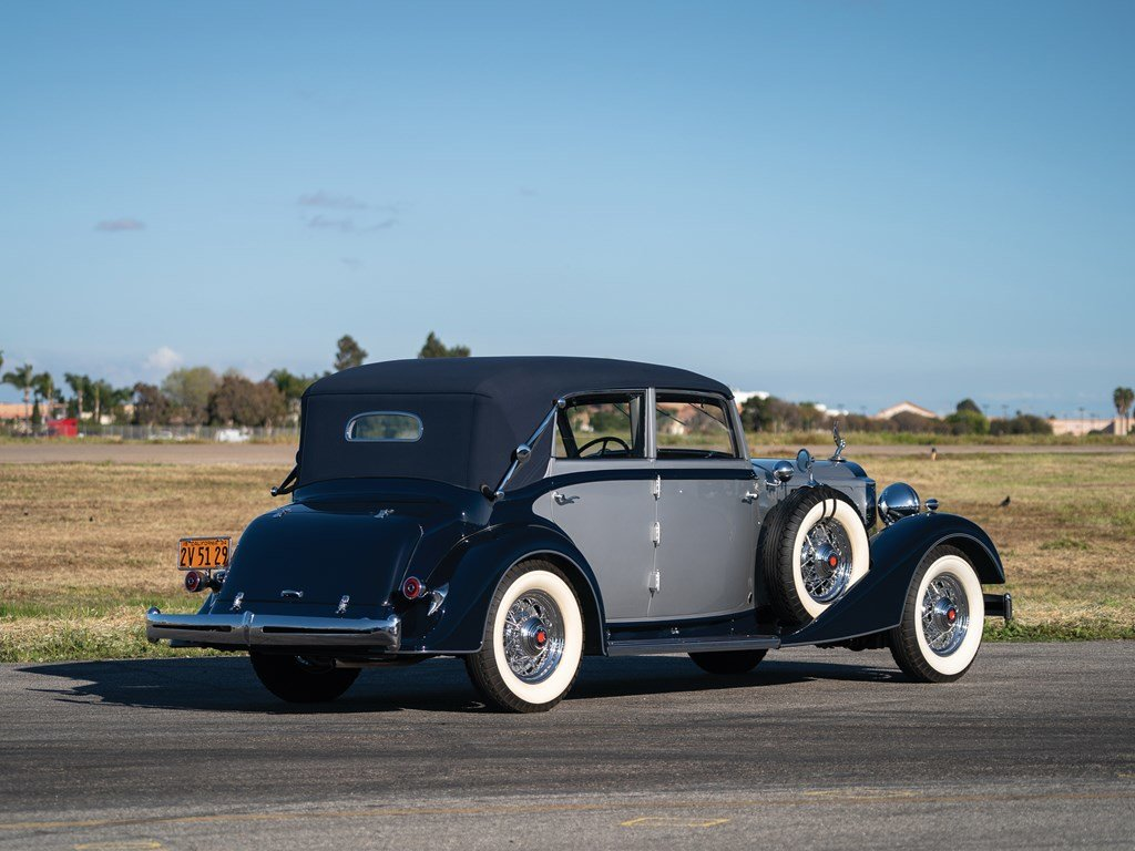 1934 Packard Eight All-Weather Cabriolet by Glser For Sale by Auction (picture 2 of 6)