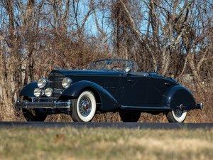 1934 Packard Twelve Individual Custom Sport Phaeton in the s