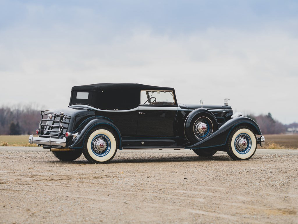 1934 Packard Twelve Convertible Victoria  For Sale by Auction (picture 2 of 6)