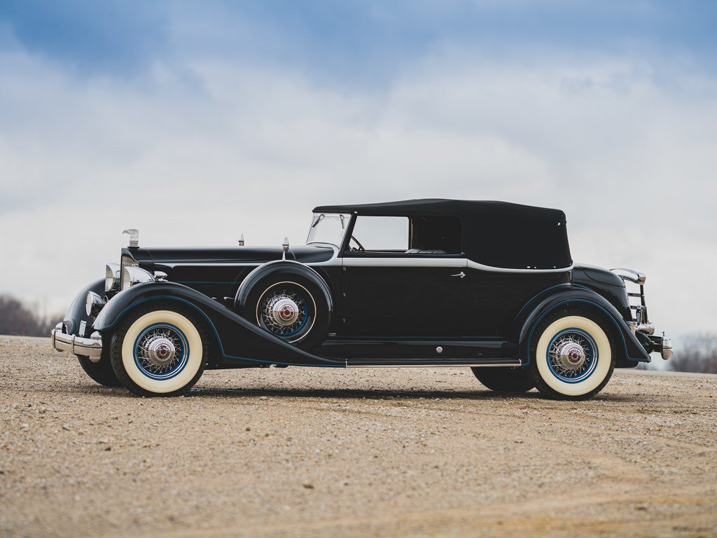 1934 Packard Twelve Convertible Victoria  For Sale by Auction (picture 5 of 6)