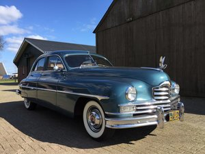 1950 Packard Super Eight Deluxe Touring Sedan only 15.000ml