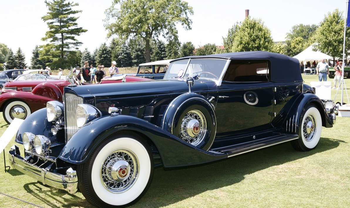 1934 Packard Twelve Convertible Victoria For Sale (picture 1 of 2)