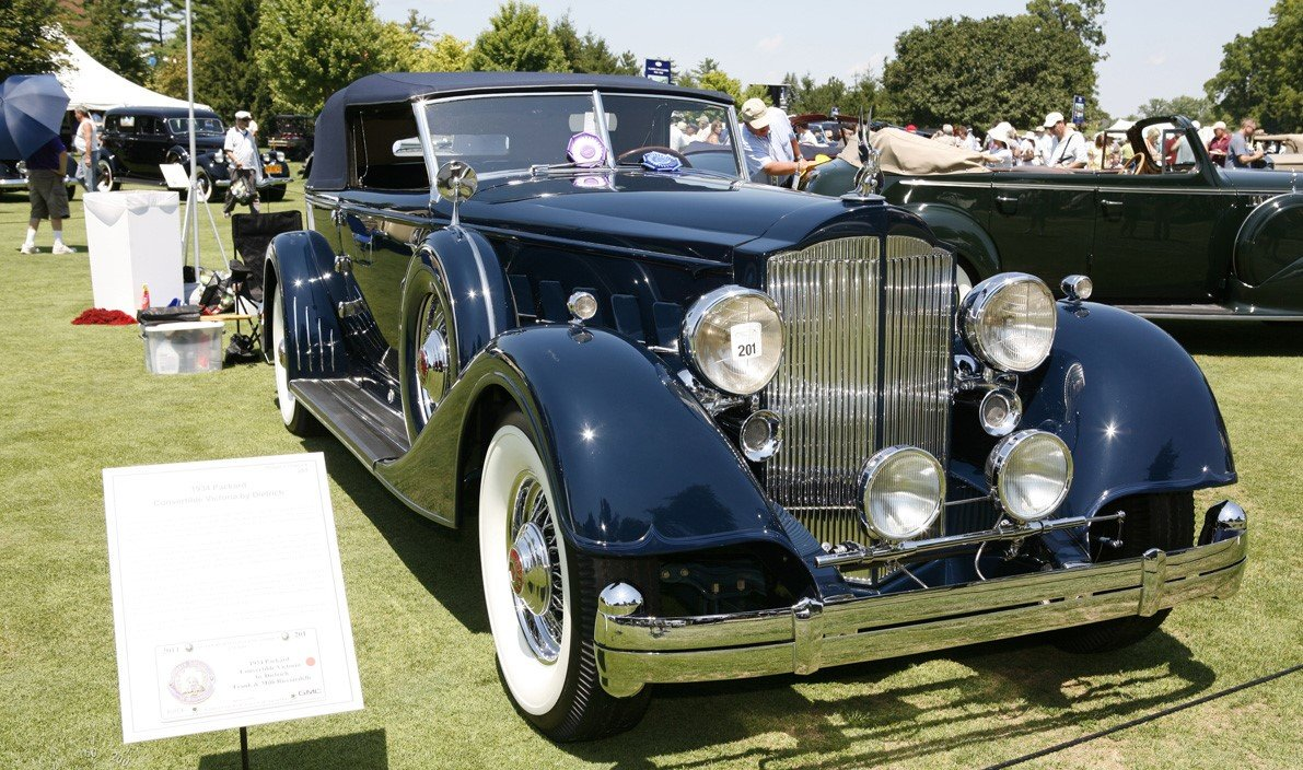 1934 Packard Twelve Convertible Victoria For Sale (picture 2 of 2)