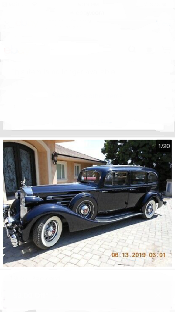1935 Packard 1408 4DR Limousine For Sale (picture 1 of 6)