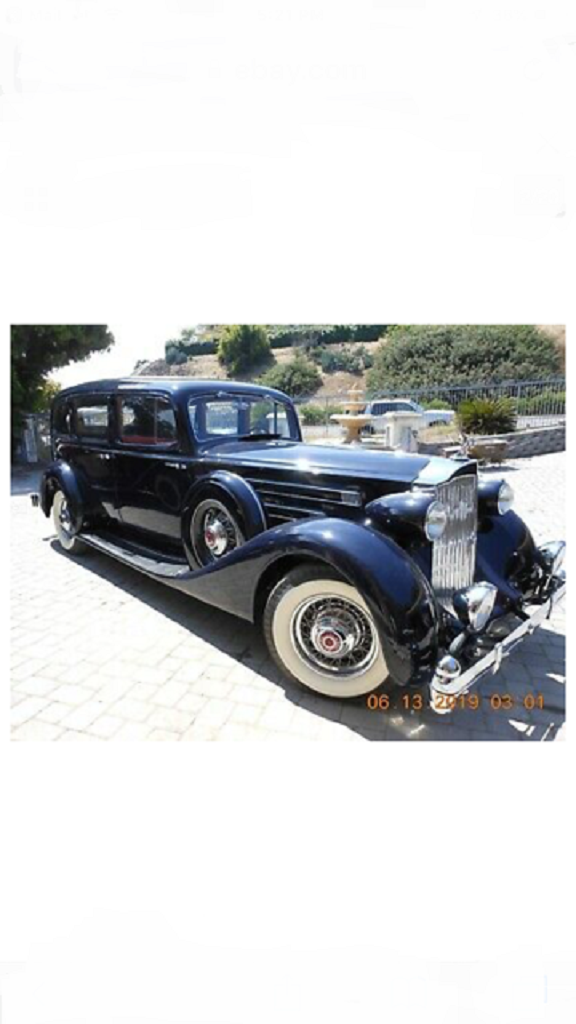 1935 Packard 1408 4DR Limousine For Sale (picture 2 of 6)