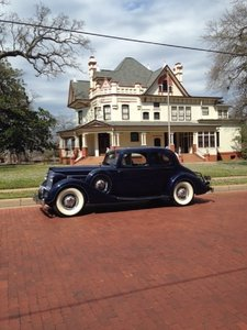 1936 Packard 8 Victoria Coupe For Sale