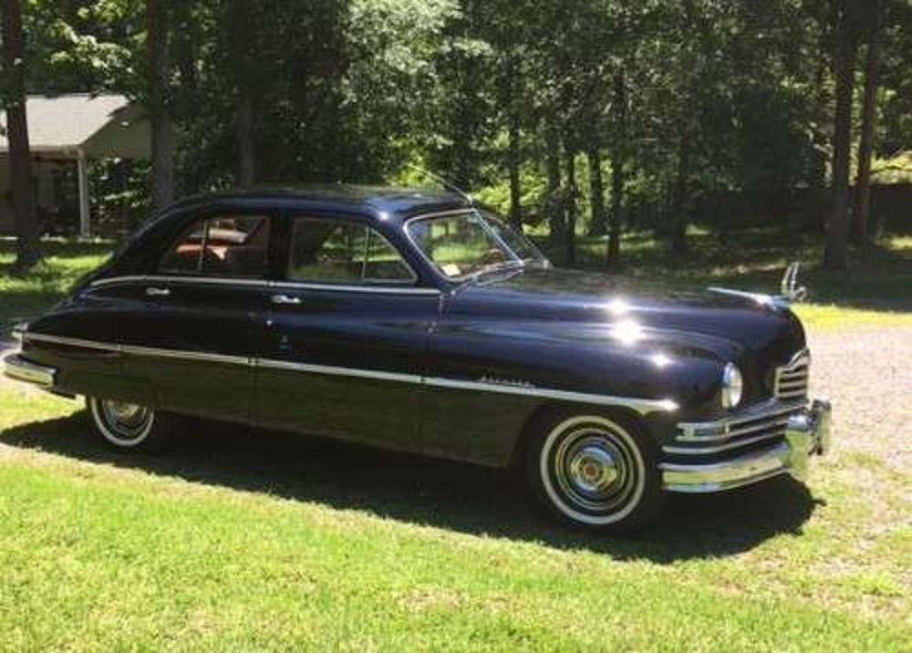 1950 Packard Deluxe 8 4DR Sedan For Sale (picture 1 of 6)
