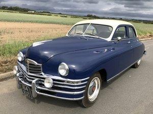1948 Packard Touring Sedan, RHD, Rebuilt, 32k miles.