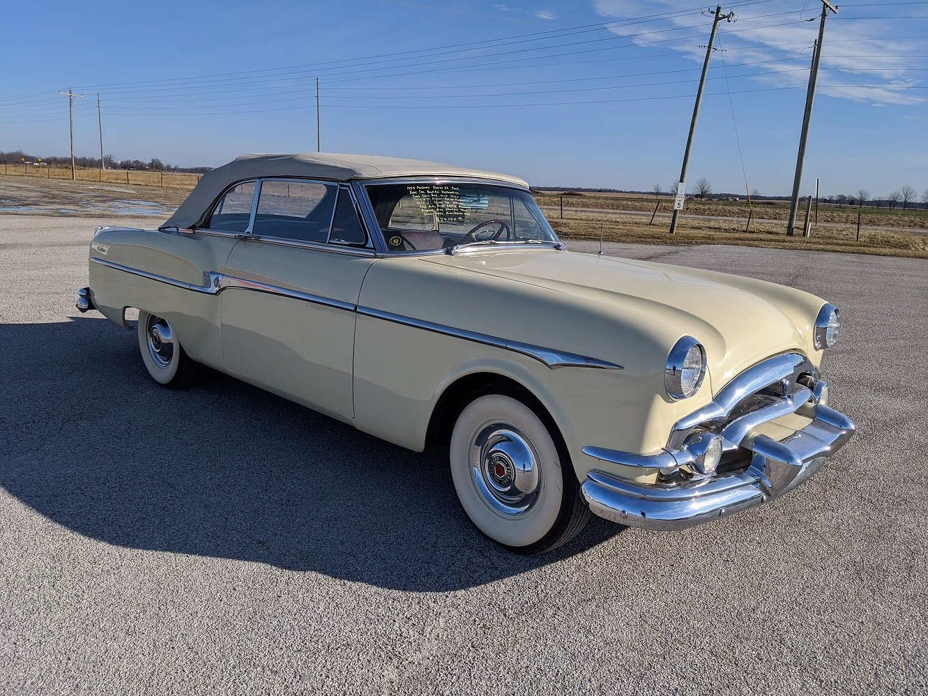 1953 Packard Cavalier Convertible For Sale (picture 2 of 6)