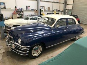 1948 Packard Sedan, RHD, Rebuilt, Only 32k miles.