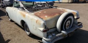 Picture of 1953 Packard Caribbean Convertible w/ Clippers Parts Car SOLD by Auction