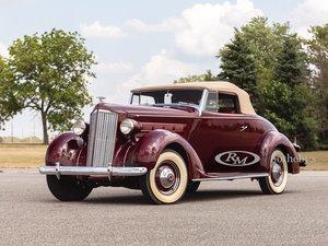 1937 Packard Six Convertible
