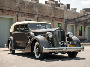 Picture of 1935 Packard Super Eight Convertible Sedan  For Sale by Auction