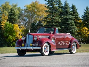 Picture of 1938 Packard Eight Convertible Coupe  For Sale by Auction
