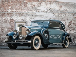 Picture of 1933 Packard Eight Cabriolet by Graber For Sale by Auction