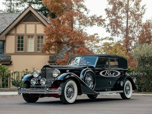Picture of 1933 Packard Twelve Individual Custom Convertible Sedan by D For Sale by Auction