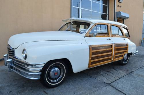 1948 Packard Woody Station Wagon For Sale (picture 1 of 5)