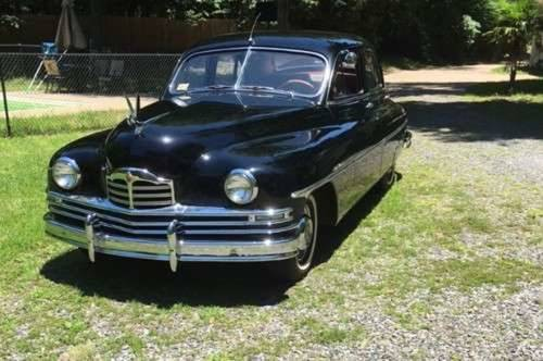 1950 Packard Deluxe 8 4-DR Sedan SOLD (picture 1 of 6)