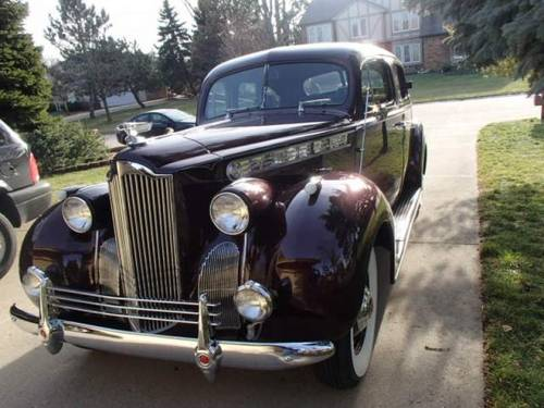 1940 Packard 110 4DR Sedan For Sale (picture 1 of 6)