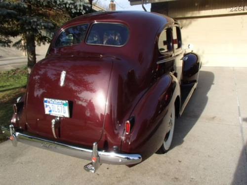 1940 Packard 110 4DR Sedan For Sale (picture 4 of 6)