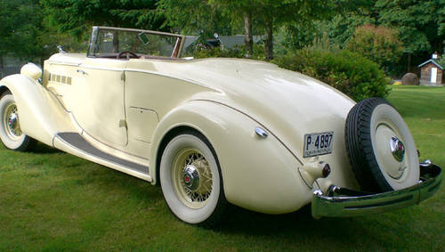 1935 Packard Convertible For Sale (picture 1 of 4)