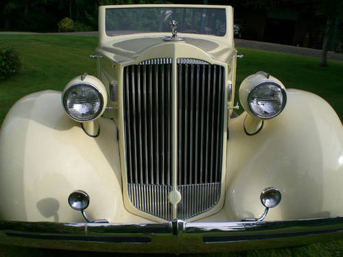 1935 Packard Convertible For Sale (picture 2 of 4)