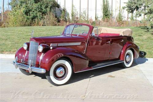 1938 Packard Standard Eight Convertible For Sale (picture 1 of 6)