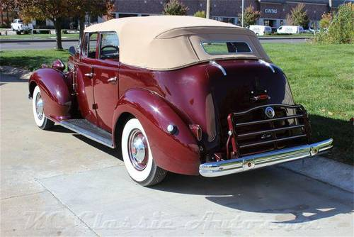 1938 Packard Standard Eight Convertible For Sale (picture 3 of 6)