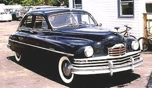 1950 Packard 4DR Sedan For Sale (picture 2 of 3)