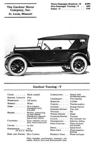 1924 Gardner Touring Car For Sale (picture 6 of 6)