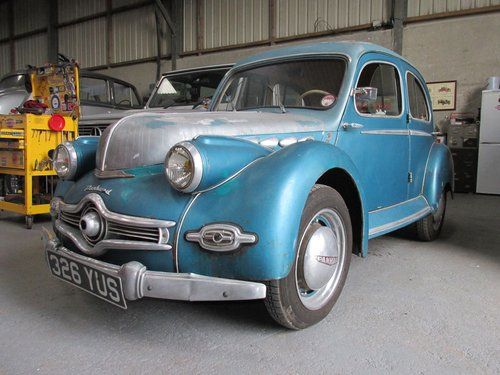 1953 Excellent and Original Panhard Dyna X86 Sprint for sale For Sale (picture 1 of 6)