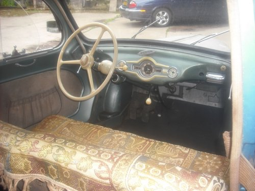 1953 Excellent and Original Panhard Dyna X86 Sprint for sale For Sale (picture 5 of 6)