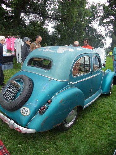 1953 Excellent and Original Panhard Dyna X86 Sprint for sale For Sale (picture 6 of 6)