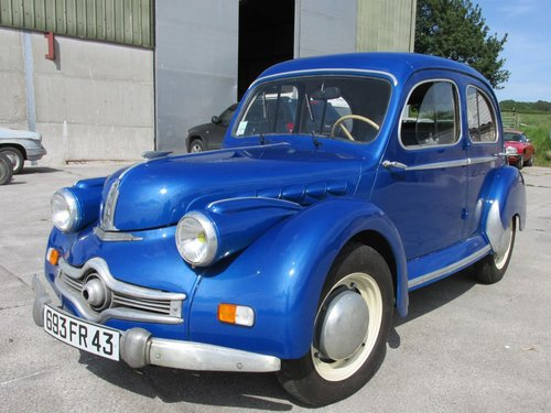 1953 Nice condition Panhard Dyna X86  SOLD (picture 1 of 6)