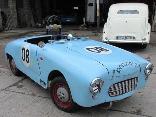 1953 Fantastic Panhard Dyna X87 Junior racing car, great history For Sale (picture 3 of 6)