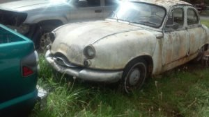 1959 Panhard Dyna = Complete Project Ivory Auto $4.9k For Sale