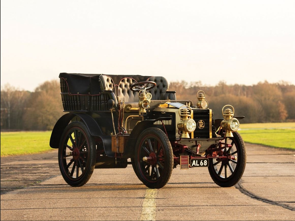 c 1900 Panhard & Levassor 16hp Rear Entrance Tonneau. SOLD (picture 1 of 6)