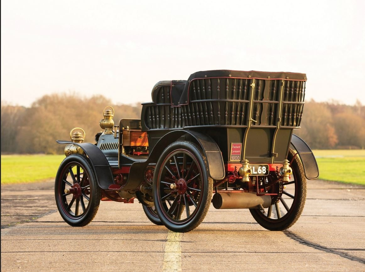 c 1900 Panhard & Levassor 16hp Rear Entrance Tonneau. SOLD (picture 2 of 6)