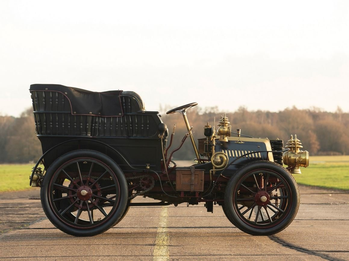 c 1900 Panhard & Levassor 16hp Rear Entrance Tonneau. SOLD (picture 5 of 6)