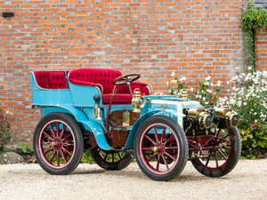 1901 PANHARD-LEVASSOR 7HP TWIN-CYLINDER FOUR-SEATER REAR-ENT For Sale by Auction